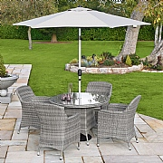 Hartman Ellipse 4 Seater Round Set