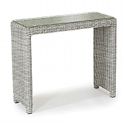 Kettler Palma Side Table Glass White Wash