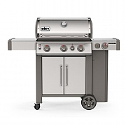 Weber Genesis II SP-335 GBS Gas Barbecue Stainless Steel