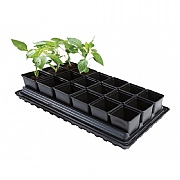 Garland Professional Vegetable Tray Set (18 x 9cm Pots,Tray, Water Tray & Capillary Mat)