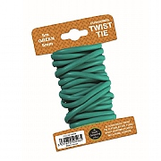 Garland Green Cushioned Twist Tie - 5mm x 5m