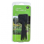 Garland Tee Labels Black - 10 Pack