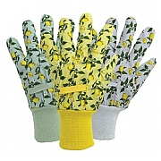 April Raven Sicilian Lemon Cotton Gloves 3 Pack