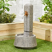 Kelkay Country Tap Water Feature with LED Light