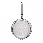 KitchenCraft Oval Handled Stainless Steel Sieve 18cm