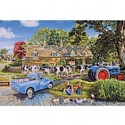 Gibsons Milk on the Move 250XL Piece Jigsaw Puzzle