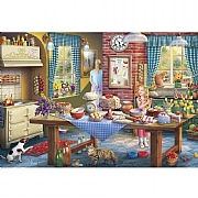Gibsons Sneaking a Slice 500 Piece Jigsaw Puzzle