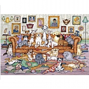 Gibsons The Barker-Scratchits 500 Piece Jigsaw Puzzle
