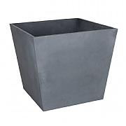 Beton Low Square Planter Light Grey 48.5cm