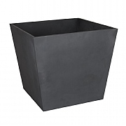 Beton Low Square Planter Dark Grey 48.5cm