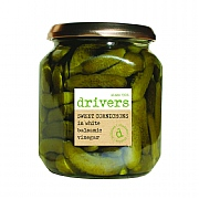 Driver's Cornichons in White Balsamic Vinegar 550g