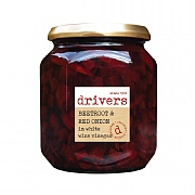 Driver's Beetroot & Red Onion in White Wine Vinegar 550g