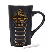 Harry Potter School List Chalkboard Latte Mug