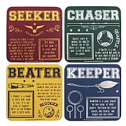 Harry Potter Quidditch Set of 4 Coasters