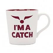 "Harry Potter Quidditch ""I'm A Catch"" Tapered Mug"