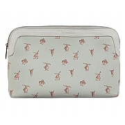 Wrendale 'Hare-Brained' Large Cosmetic Bag