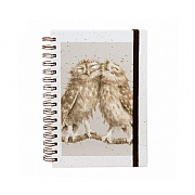 Wrendale 'Birds of a Feather' A5 Spiral Notebook