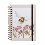 Wrendale 'Flight of the Bumblebee' A5 Spiral Notebook