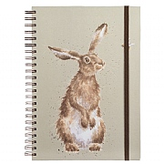 Wrendale 'The Hare & the Bee' A4 Spiral Notebook