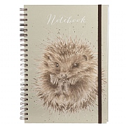 Wrendale 'Awakening' A4 Spiral Notebook