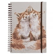 Wrendale 'Contentment' A4 Spiral Notebook