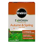 Miracle-Gro Evergreen Premium Plus Autumn & Spring Lawn Food 100m2