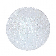Gisela Graham Iridescent Crushed Glass Nite Lite Ball