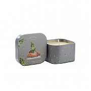 Wax Lyrical Home For Christmas Wax Filled Square Tin