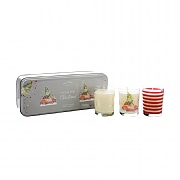 Wax Lyrical Home For Christmas Set of 3 Votive Candles