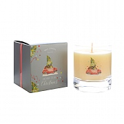 Wax Lyrical Home For Christmas Large Glass Candle
