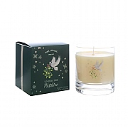 Wax Lyrical Under The Mistletoe Large Glass Candle