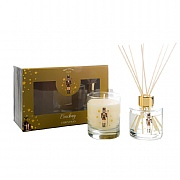 Wax Lyrical Cracking Christmas Reed Diffuser & Candle Gift Set