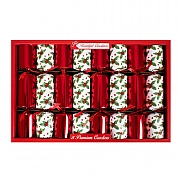 Red Holly Premium Christmas Crackers (Pack of 8)