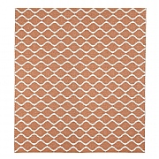 Wave Rust 200 x 200cm Outdoor Weatherproof Rug