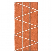 Viggen Orange 70 x 150cm Outdoor Weatherproof Rug