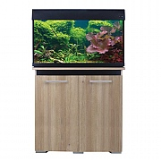 AquaVogue 135 Aquarium & Cabinet - Nash Oak