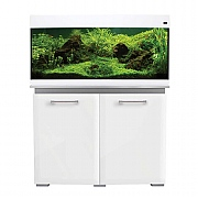 AquaVogue 170 Aquarium & Cabinet - White Gloss