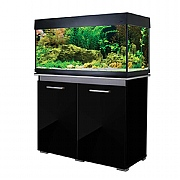 AquaVogue 170 Aquarium & Cabinet - Black Gloss