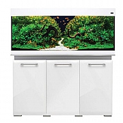 AquaVogue 245 Aquarium & Cabinet - White Gloss