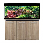 AquaVogue 245 Aquarium & Cabinet - Nash Oak