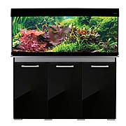AquaVogue 245 Aquarium & Cabinet - Black Gloss
