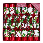 "Robin Reed Winter Berry 12"" Christmas Crackers (Pack of 6)"