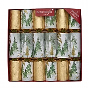 "Robin Reed Enchanted 12"" Christmas Crackers (Pack of 6)"
