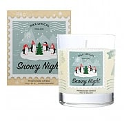 Wax Lyrical Snowy Night Glass Candle