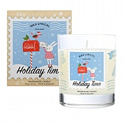 Wax Lyrical Holiday Time Glass Candle
