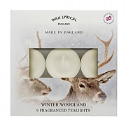 Wax Lyrical Winter Woodland Tealights (Box of 9)