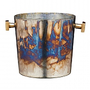 BarCraft Mercury Fire Glass Sparkling Wine Bucket