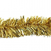 Festive Gold Chunky Tinsel - 2m