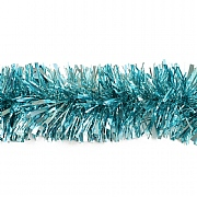 Festive Powder Blue Chunky Tinsel - 2m