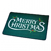 Merry Christmas Washable Mat